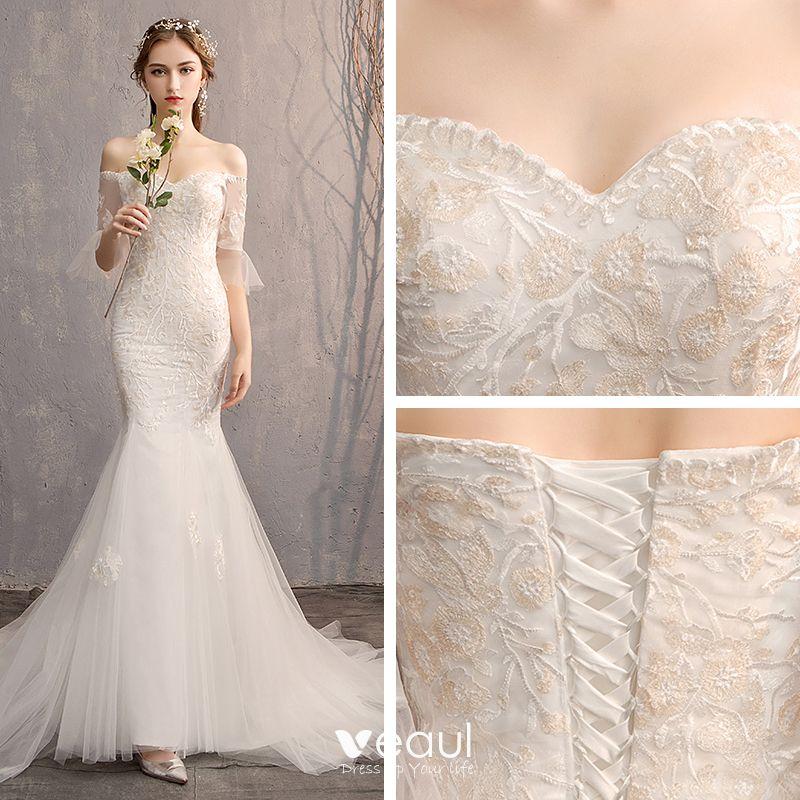 Trumpet Wedding Dresses 2019
