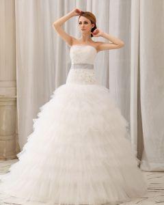 Gaze Ene Skulder Monark Bolden Kjole Brudekjole