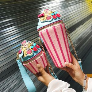 Lovely Pearl Pink Cartoon Clutch Bags 2018