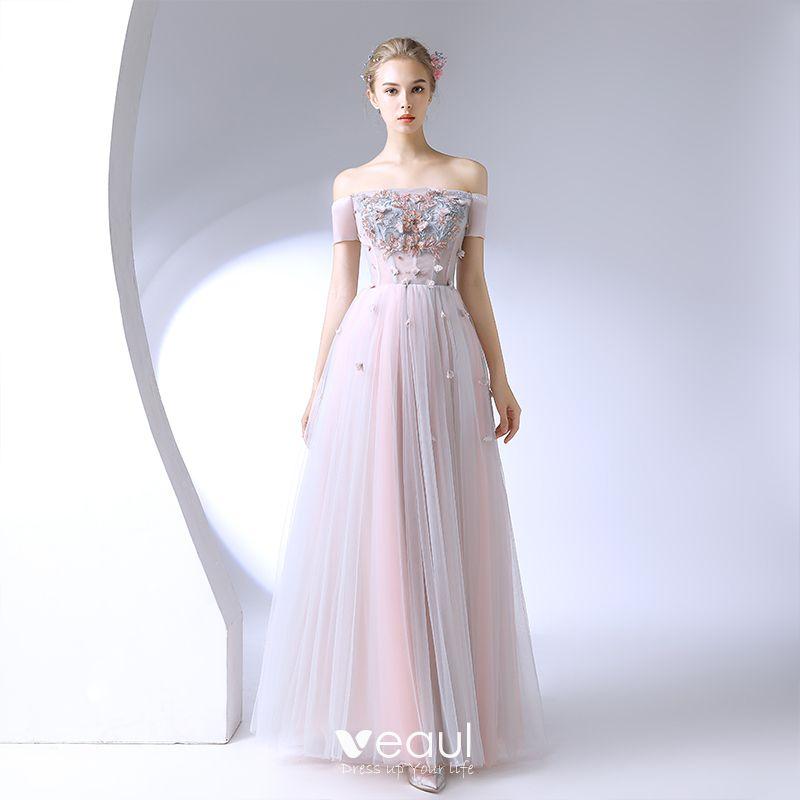 Chic / Beautiful Blushing Pink Formal Dresses