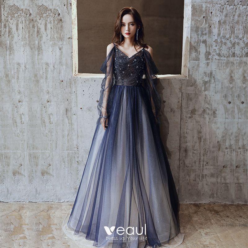 long sleeve prom dresses