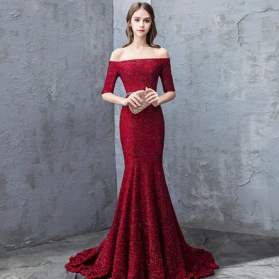 c5acad16e420e sexy-burgundy-evening-dresses-2018-trumpet-mermaid-glitter-sequins-off-the- shoulder-backless-short-sleeve-sweep-train-formal-dresses-560x560.jpg