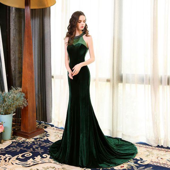 0b628d414 elegant-dark-green-see-through-suede-evening-dresses-2018-trumpet-mermaid- scoop-neck-strapless-sleeveless-beading-court-train-ruffle-formal-dresses -560x560.jpg
