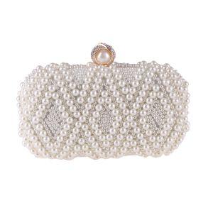 Luxe Witte Parel Handtassen 2018