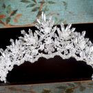 Chic / Beautiful 2017 Silver Rhinestone Metal Wedding Headpieces Bridal Jewelry