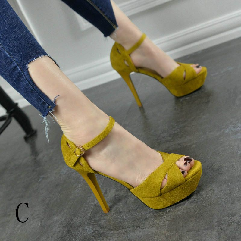 Sexy Cocktail Party Pumps 2017 Prom PU X-Strap