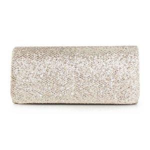 Dames Fonkelende Lovertjes Clutch Tas Bag Europese En Amerikaanse Mode Effen Kleur Avondtasje Jurk Clutch Tas Bag