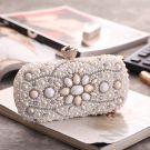Modern / Fashion Ivory Clutch Bags Beading Pearl Rhinestone Accessories 2019