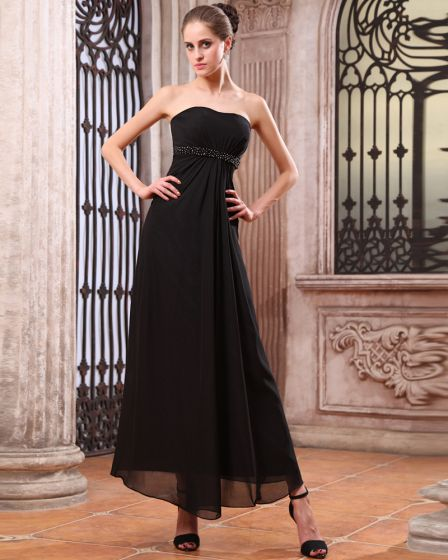 Beautiful Chiffon Floor Length Bridesmaid Dress Gown