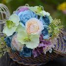 Phalaenopsis Rose Mash Bridal Bouquets Holding Flowers Wedding Flowers