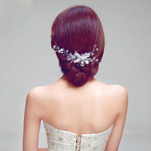 Mode Luxus Strass Haarschmuck Braut Haarschmuck Braut
