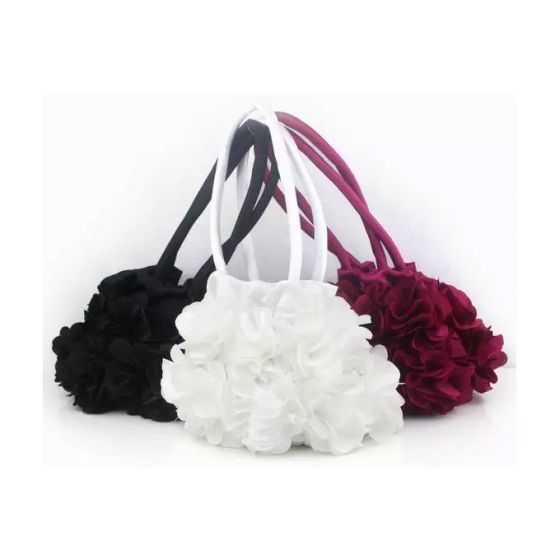 Sweet Floral Handle Packet Small Fresh Bridesmaid Small Bag Banquet Packet Clutch Bags