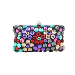 Fashion Handbag Large Pieces Of Acrylic Diamond Dinner Clutch Bag