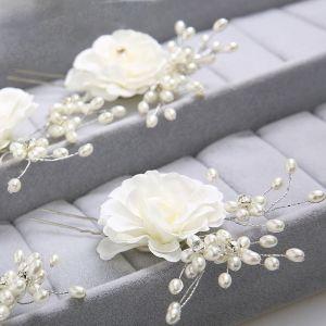 Brauthauptblume / Kopfbedeckungen / Pearl Haar-accessoires
