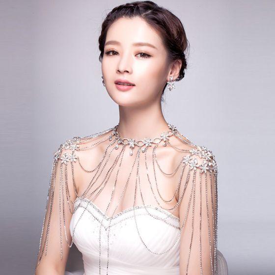 Luxury Temperament Shoulder Chain Wedding Jewelry