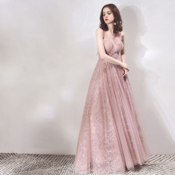 316f45d4129 Pink Prom Dresses with Sleeves – Fashion dresses
