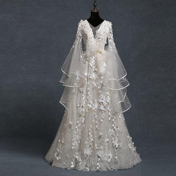 Vestidos de novia corte campana