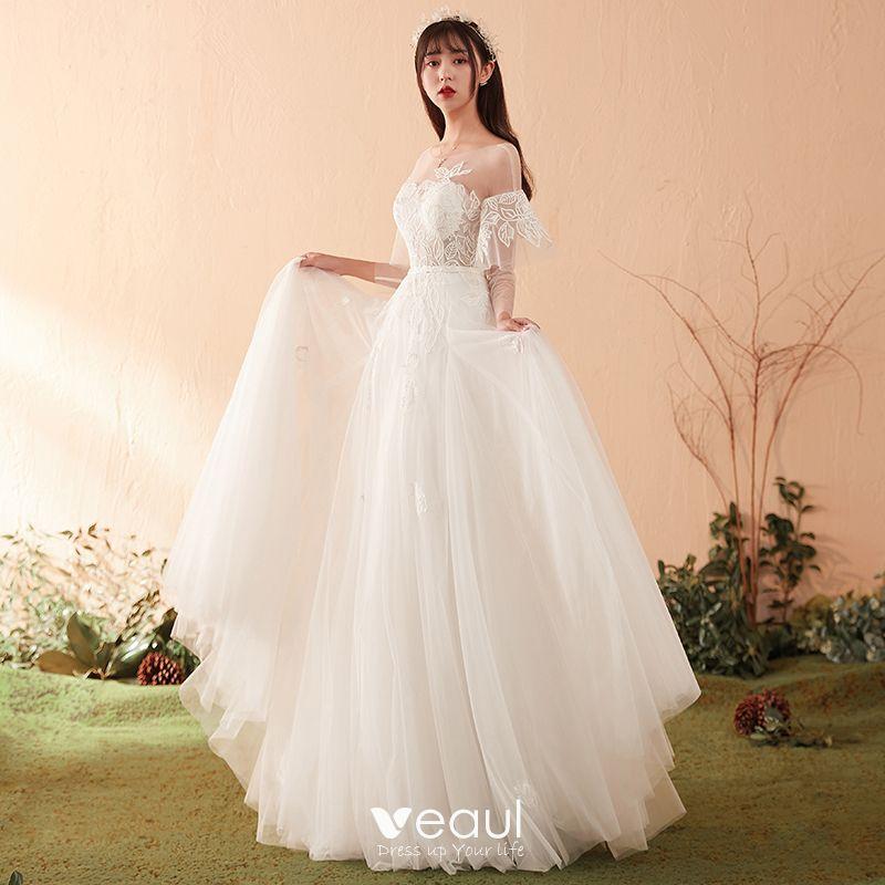 093ef225c modest-simple-ivory-wedding-dresses-2018-a-line-princess-appliques-lace- scoop-neck-backless-long-sleeve-floor-length-long-wedding-800x800.jpg