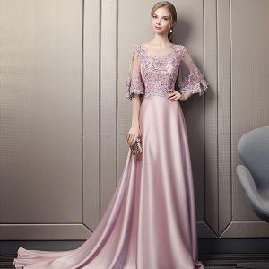 robe de soirée rose bonbon