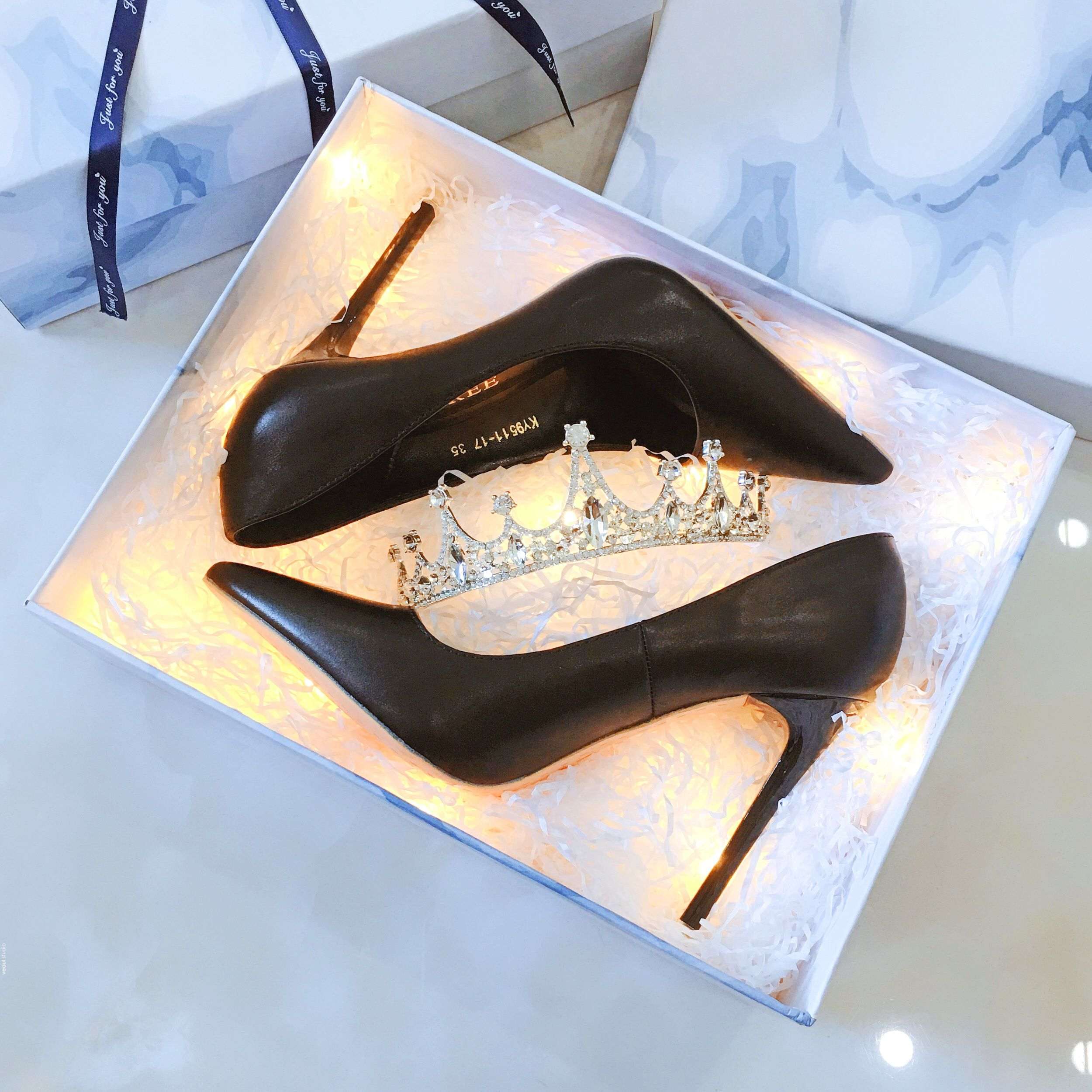 Classy Black Evening Party Pumps 2019 10 cm Stiletto Heels Pointed Toe Pumps