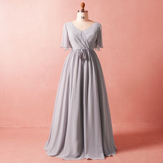 4488630d650 modest-simple-grey-plus-size-2018-a-line-princess-crossed-straps-tulle-v- neck-summer-sash-beach-1-2-sleeves-mother-of-the-bride-dresses-560x560.jpg