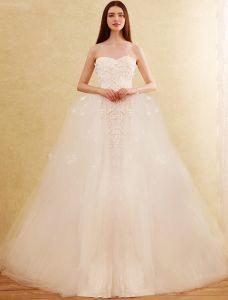 Glamourösen Hochzeitskleider 2017 Schatz Herausnehmbaren Des Zugs Nixe Brautkleider