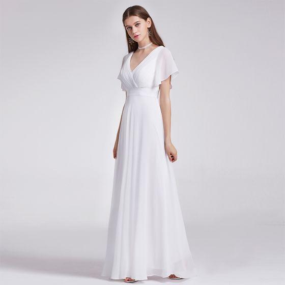 e6db8f6c763b8 modest-simple-ivory-chiffon-bridesmaid-dresses-2019-empire-v-neck-short -sleeve-sash-sweep-train-ruffle-backless-wedding-party-dresses-560x560.jpg