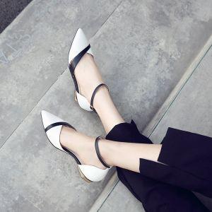 Elegant Udendørs / Have Sandaler Dame 2017 Læder Håndlavet