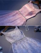 Schönen Abendkleid Lange Durchbohrte Spitze Silvesterkleid 2016