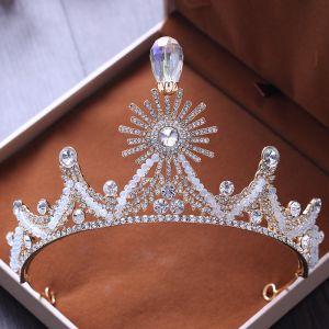 Chic / Belle Argenté Faux Diamant Perlage Tiare Mariage Accessorize 2019
