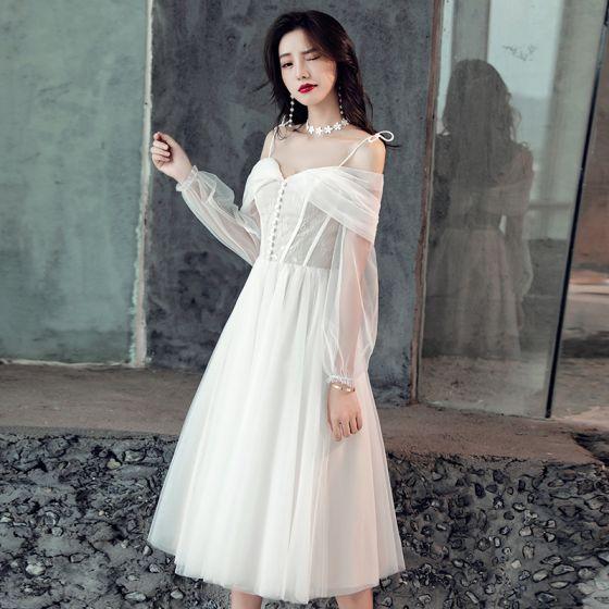 d931ede3e5d Elegant White Cocktail Dress – Fashion dresses