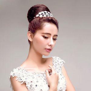 Rhinestone Flower The Bridal Headdress Hair Accessories