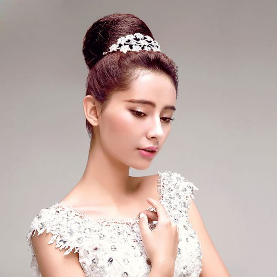 Rhinestone Flower The Bridal Headdress Hair Accessories