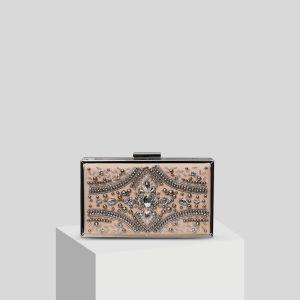 Mooie / Prachtige Blozen Roze Handgemaakt Kralen Parel Rhinestone Handtassen 2019