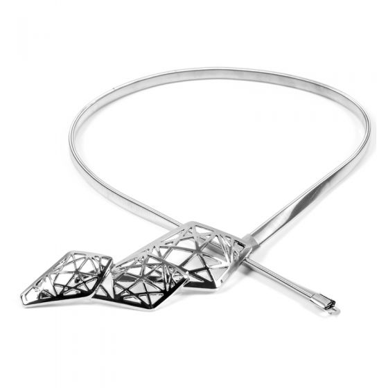 Classic Elegant Silver Prom 2020 Belt Metal Buckle Evening Party Accessories