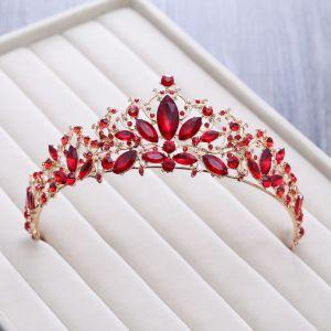 Chic / Belle Rouge Faux Diamant Tiare 2018 Métal Accessorize