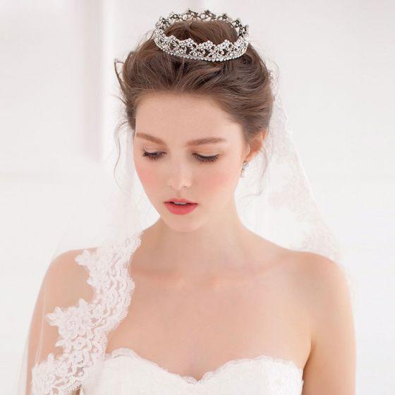 Temperament Mariée Circulaires Big Crown / Accessoires Pour Cheveux