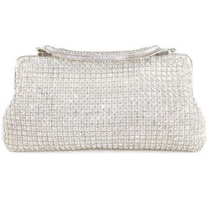 Licht Luxe Full Diamanten Avondtasje Europese En Amerikaanse Mode Feestjurk Pack Keten Shoulin Pakket
