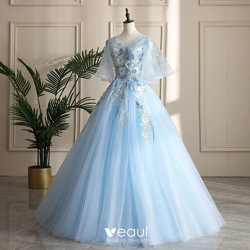 Marina Maitland Wedding Dress Blue Wedding Dress 2019