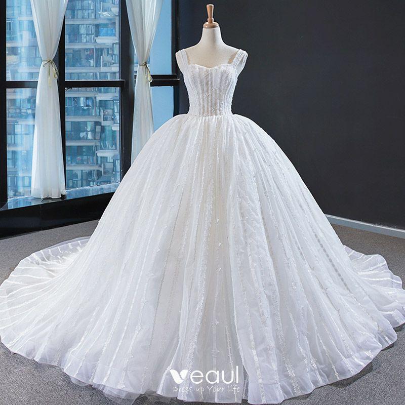 Best Ball Gown Wedding Dresses: Best Ivory Wedding Dresses 2020 Ball Gown Shoulders