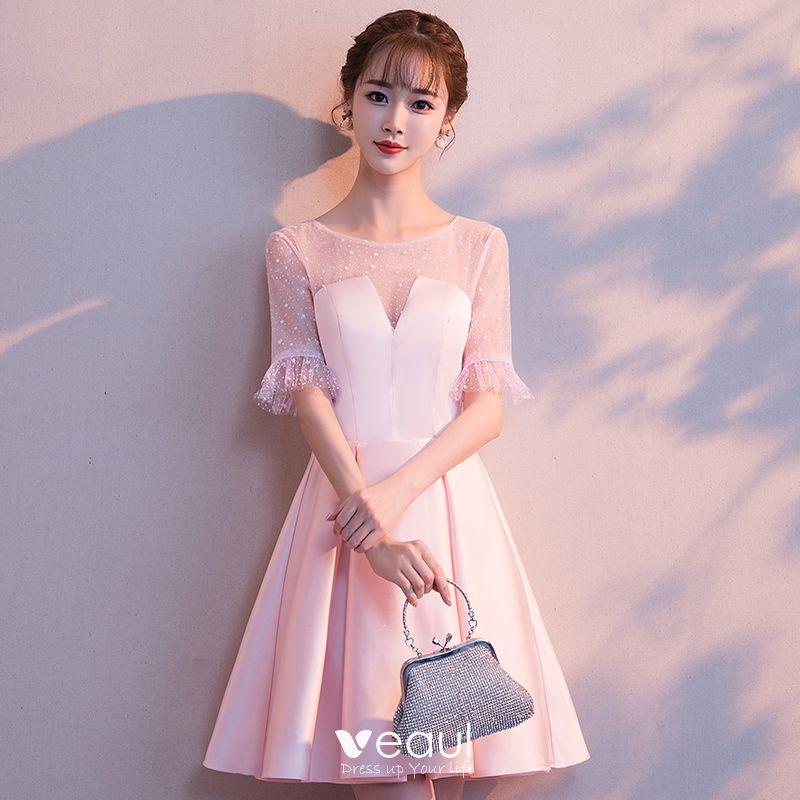 9524b3cc43 Dłuższe sukienki są uważane za bardziej formalne. Jeśli twoja szkoła ma  formalny powrót do domu