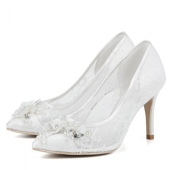 luxury-gorgeous-white-lace-wedding-shoes-2018-beading-rhinestone -pearl-10-cm-stiletto-heels-leather-see-through-lace-pointed-toe-wedding -pumps-560x560.jpg 3f59d2874b2b