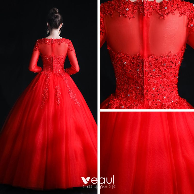 Red dresses to wear to a wedding