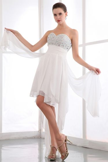2015 Pretty Empire Sweetheart Zipper Cocktail Dress With Crystal