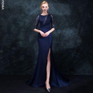elegant mermaid evening dress