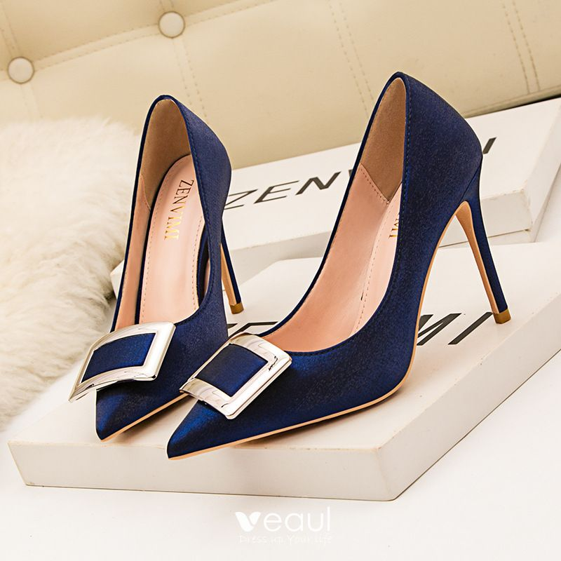 Chic / Beautiful Navy Blue Cocktail