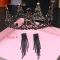 Vintage / Originale Baroque Noire Bijoux Mariage 2019 Métal Tiare Gland Boucles D'Oreilles Faux Diamant Mariage Accessorize
