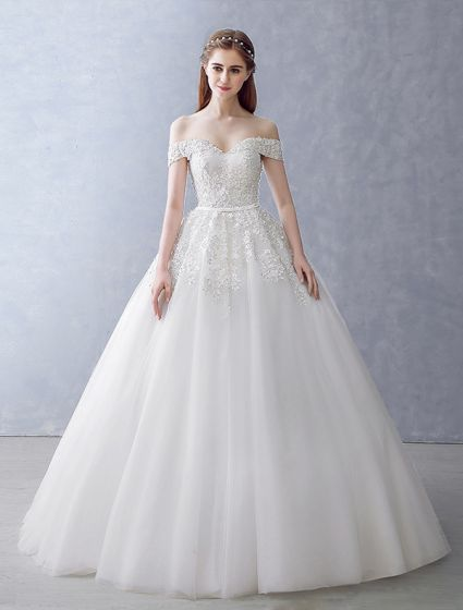 Elegant Wedding Dresses 2016 Ball Gown