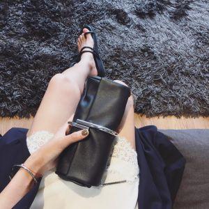 Modest / Simple Black Clutch Bags 2018