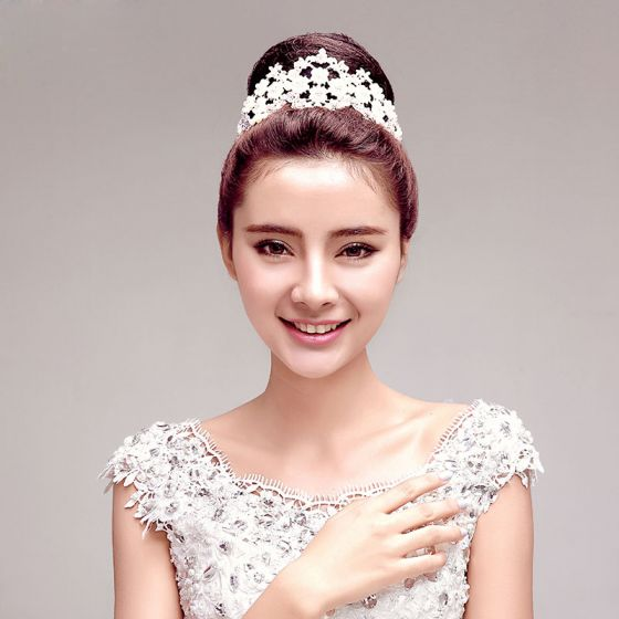 Fashion Sweet Shine Rhinestone The Bridal Headpieces Wedding Hair Accessories Tiata Jewelry